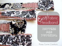Easy fabric headband