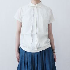 Bess Nielsen / Cotton Shirts / Natural  - taste ウェブショップ