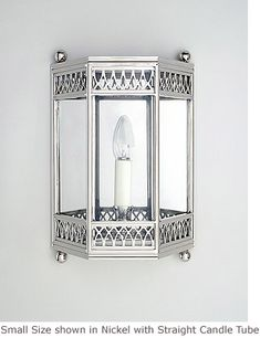 3 Sided Frieze Wall Lantern Product SC 255