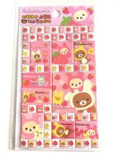 Rilakkuma stickers new rilakkuma cute 3d by MelsEclecticsupplies, $3.25