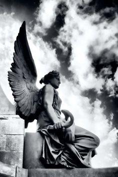 Guardian Angel in Dublin, Ireland; photo by Gabriela Insuratelu
