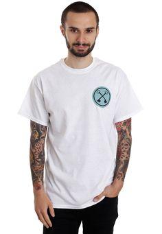 Hundredth - Core White - T-Shirt - Official Hardcore Merchandise Online Shop - Impericon.com Worldwide