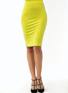 Anywhere Anytime Pencil Skirt