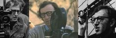 woody allen Directing | Woody Allen on the different sets of his various films
