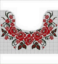 Світлина від Tatyana  Bey. Cross Stitch Borders, Cross Stitch Rose, Cross Stitch Flowers, Cross Stitch Designs, Cross Stitching, Cross Stitch Patterns, Hand Embroidery Tutorial, Folk Embroidery, Learn Embroidery