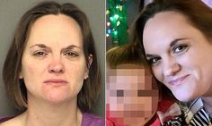 Tasha Hatcher, 35, from Glen Rose, Texas, who was arrested on Thursday after the horrific incident left her daughter with second and third-degree burns.