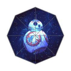 Star Wars Umbrellas for Kids - Star War Custom Foldable Rain Umbrella Wind Resistant Windproof Floding Travel Umbrella by Hertanercase