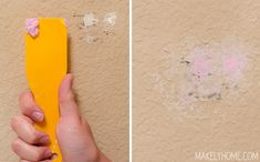 How to Repair Holes in Textured Drywall