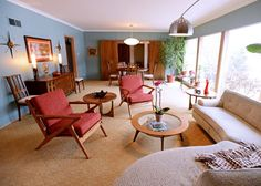 Gallery: At Home in 1950s style Ladue ranch : Lifestyles
