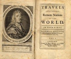 """Gulliver's Travels, whose full title is Travels into Several Remote Nations of the World. In Four Parts. By Lemuel Gulliver, First a Surgeon, and then a Captain of Several Ships, , is a prose satire[1][2] by Irish writer and clergyman Jonathan Swift, that is both a satire on human nature and the """"travellers' tales"""" literary subgenre. It is Swift's best known full-length work, and a classic of English literature. He himself claimed that he wrote Gulliver's Travels """"to vex the world rather…"""