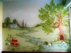 Ζωγραφική παιδικού δωματίου: Νεραϊδότοπος