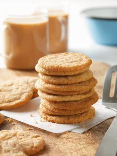 Padma Lakshmi's Cinnamon Tea Cookies: These spiced cookies are easy to make with the kids! Dip them in hot chocolate or a creamy chai latte for the ultimate blend of sweet and spicy flavor. Click through for this  recipe and more delicious chai latte pairings.