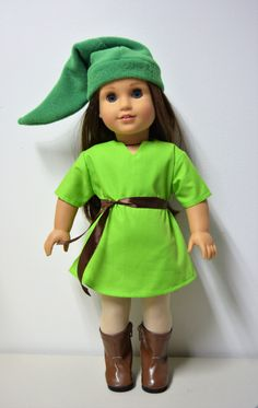 Handmade Doll Clothes Link from The Legend of Zelda Costume