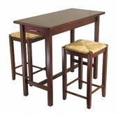 Found it at Wayfair - Winsome 3 Piece Counter Height Dining Set