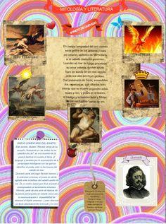 Glog elaborado por M ª Dolores en el que aúna la mitología con el estudio de uno de los sonetos de Quevedo