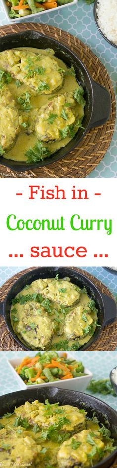 fried fish, simmered in a flavorful sauce made of coconut milk,curry ...