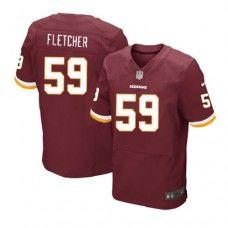 Elite Mens Nike Washington Redskins http://#59 London Fletcher Team Color NFL Jersey$129.99
