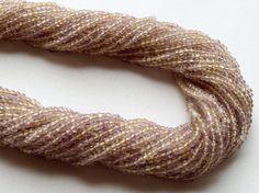 Ametrine Beads Ametrine Faceted Rondelles by gemsforjewels on Etsy