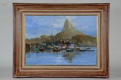 ROMANELLI (1945) - Rio de Janeiro - ost - 70 x 100 - datado 2003