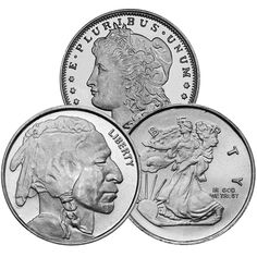 oz Silver Round from JM Bullion™ Silver Rounds, Buy 1, Mint, Personalized Items, Stuff To Buy, Peppermint