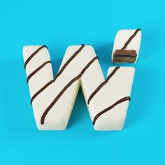 W for White Chocolate  #36days_w #36daysoftype03 #3dart #artwork #lettering #type #typedesign #graphicdesign #art  #artwork #cinema4d  #behance #3dtype  #bonbon #artfido #meetkvell  #chocolate #macarons #zbrush  #typespire #food #whitechocolate #sweet #yummy  #meetkvell @36daysoftype by cess_tm