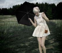 A white dress & petite cross body.