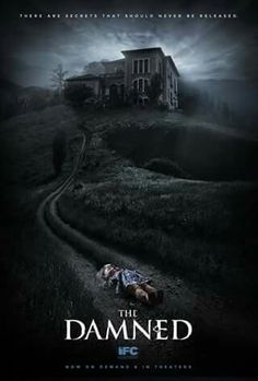 : The Damned. Scary Movies To Watch, Good Movies On Netflix, Best Horror Movies, Classic Horror Movies, Night Film, Horror Movie Posters, Film Posters, Movie Covers, Best Horrors