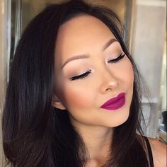 M O T D  @simplyxauds looks stunning with her lips painted in •BERRY ME 2• liquid matte lipstick! #DoseofColors #DoseofHeaven