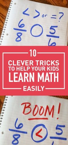 Math can be a hard and a boring subject for most kids. But you can make it easier for them using some clever tricks that would help them master different aspect of basic mathematics easily and they can even have fun doing it. Take a look at these easy tricks that would help your kid be so much better at math.