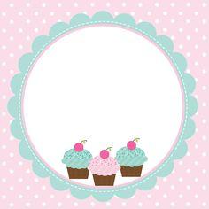 Adesivos Cupcake Logo, Cupcake Card, Cupcakes Wallpaper, Purple Flowers Wallpaper, Sweet Logo, Cake Logo Design, Diy And Crafts, Paper Crafts, Bakery Logo