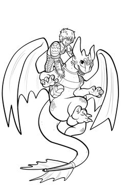FREE Toothless Lineart by Leafyful on deviantART · How To