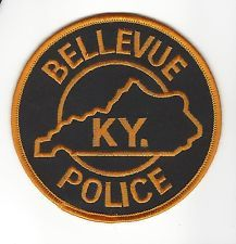Bellevue Kentucky Police Dept. patch