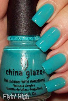 China Glaze Flying High. favorite color