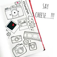 Nov 19 - say cheese...... #365doodleswithjohannafritz @byjohannafritz #apsidoodles365 #doodle #doodleaday #camera #saycheese #stationery #illustration #illustratorsofinstagram #drawing #instaart #art #artist #color #colorful #love #instalove #sketchbook  #igersdubai #artjournal #design #black #white #blackandwhite #monochrome #linedrawing #cute by __apsi__