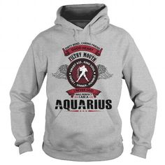 Awesome Tee aquarius sweatshirt birthday t shirts for who was born in was born in January or february Shirts & Tees