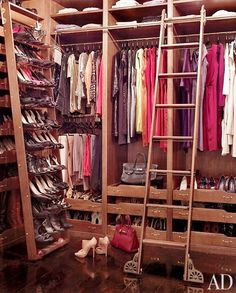 Ordinaire From Architectual Digest, March 2012, Celebriity Closets Actress Brooke  Shieldsu0027s Closet At Her Greenwich