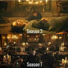 """""""Quando perguntarem o que aconteceu aqui... diga que o Norte se lembra."""" — Arya Stark."""