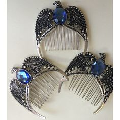 See this and similar hair accessories - Just like the main description in my shop for the Ravenclaw Diadem, this brooch is made into a hairpin with heavy duty e. Bijoux Harry Potter, Cadeau Harry Potter, Harry Potter Style, Harry Potter Decor, Harry Potter Wedding, Harry Potter Outfits, Harry Potter Fandom, Harry Potter World, Rowena Ravenclaw Diadem