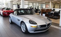 This 9k-mile 2001 BMW Z8 is listed in Bring-A-Trailer