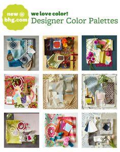 Behind-the-Scenes: New Designer Color Palettes!