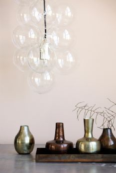 DIY Glass Bubble Ceiling Light
