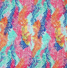 Lilly Pulitzer Electric Feel Cotton Dobby Fabric 1 Yard