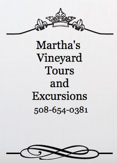 This is THE company to book a tour with on Martha's Vineyard. Ask for Mr. G as your guide!!