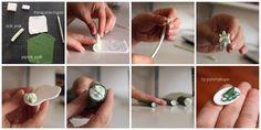 Minyatür salatalık dilimleri nasıl yapılır? How to make miniature cucumber slices.  #cucumber #how # slices#fashion #design #miniature #food #art #miniaturefoodart #polymerclay #clay #minyatur #polimerkil #kil #nutella #tasarim #taki #sanat #moda #sokak #tutorial #yummykupe #mold #kalip #nasil #bileklik #kolye #kupe #yuzuk #aksesuar #kadin #ring #earring #accesorie #necklace #pie