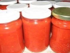 Sos de rosii cu gogosari si ceapa Salt And Pepper, Salsa, Jar, Stuffed Peppers, Food, Canning, Salt N Pepper, Stuffed Pepper, Essen