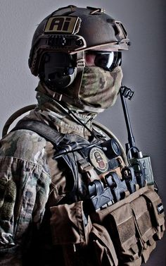 Military Special Forces Tactical Gear Loadout Board @aegisgears