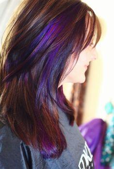 Auburn purple red