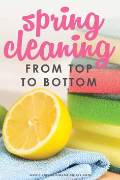 Are you ready to deep clean your house, but have no idea where to start? Our Spring Cleaning Checklist will help you clean your home from top to bottom. #cleaning #springcleaning #deepcleaning #decluttering #cleaningguide #cleaningtips #home #hometips Speed Cleaning, Daily Cleaning, Cleaning Recipes, Cleaning Hacks, Cleaning Upholstered Furniture, Spring Cleaning Checklist, How To Clean Furniture, Cleaners Homemade