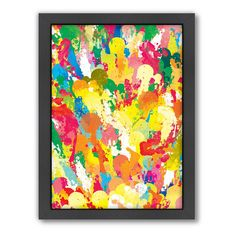 Americanflat Patricia Pino ''Spring'' Framed Wall Art, Multicolor