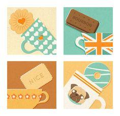 Zara Picken Illustration Portfolio Continued by Zara Picken, via Behance